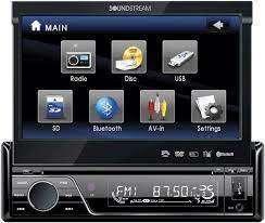 Radio Motorizado Soundstream vir-7830b (1DIN)