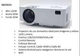 Proyector K8 1200 lumens