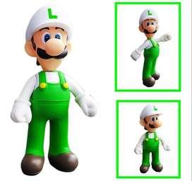 Figura Mario Bros Colección Luigi Juguete Figuras