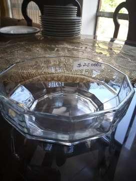 Vasija de vidrio