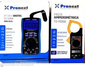 Tester Profesional digital +pinza amperometrica