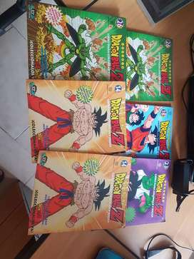 Libros para colorear de dragon ball año 2001