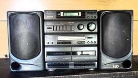 Equipo de música AIWA NSX 200