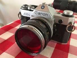 Canon AE-1 Con lente 50mm