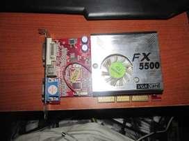 tarjeta de video FX 5500 Nvidia