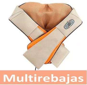 Masajeador Para Cuello Hombro Cervical Con Calefactor 0