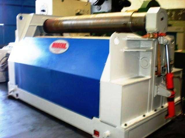 Cilindradora nueva marca MODENA -2500 x 25mm con plc --doble precurvado--4 rodillos--instalada en su planta 0