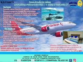 Tour san Andrés islas