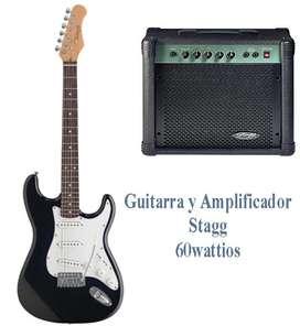 guitarra y amplificador barato
