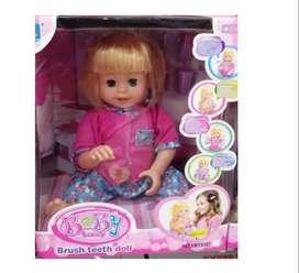 Nuevo muñeca Bebe Que Se Cepilla Los Dientes Baby Lovely