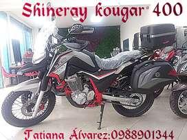 MOTO SHINERAY KOUGAR400 OFERTA CHIMASA S.A.