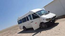 Vendo minibús mercedez benz sprinter 413