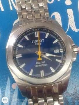 Reloj Tissot pcr 100 cristal de zafiro como nuevo gangazo