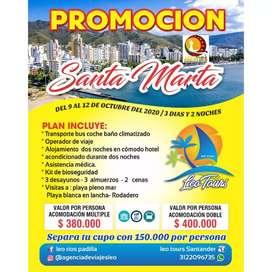 Santa Marta 9 al 12 octubre