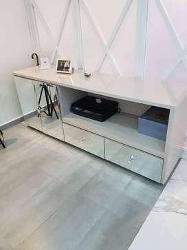 Mueble tv bajo 2 gavetas
