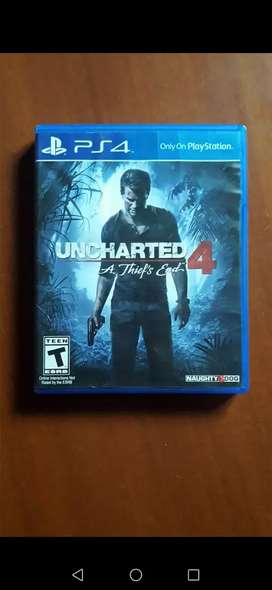 Play 4 uncharted 4