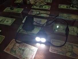 Luz delantera solar storm bicycle light x2