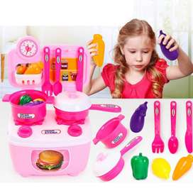 Cocina Infantil Niñas Juguete Acesorios CNM0100
