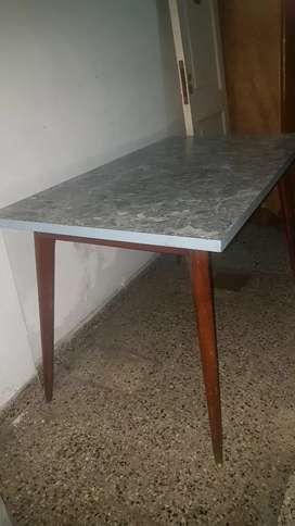 mesa nordica escandinava vintage antigua