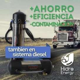 Ahorra combustible diesel - Hidrógeno vehicular.