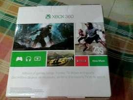 NUEVO!!!!!, XBOX 360 SLIM, 4g,, 2 CONTROLES INHALAMBRICOS,