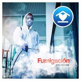 Fumigación sanitizacion