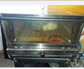 Horno pizzero 8 moldes. Usado