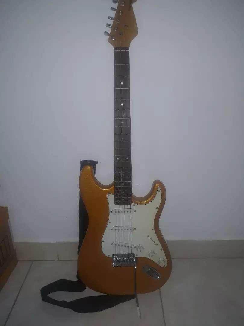 Guitarra eléctrica barata