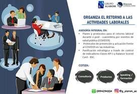 Protocolos de retorno laboral y Señaleticas