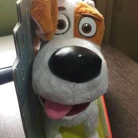 MAX de película Pets — PELUCHE PARLANTE