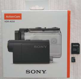 SONY ACTION CAM HDR-AS50 + Micro SD 16GB