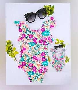 Lindos vestidos de baño para niñas