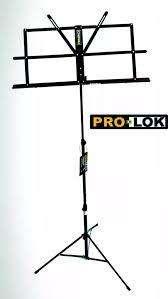 Atril Plegable Prolok Pms-240wb Con Funda
