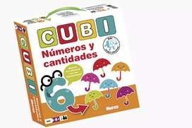 Juego didactico - Cubi números y cantidades