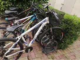 Canasta metalica para bicicleta