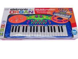 Teclado Organeta Piano 37 Teclas Mas Micrófono