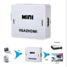 Convertidor / Adaptador Vga A Hdmi + Audio - Pc Y Portátiles