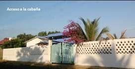 Se arrienda cabaña en Salinas del Rey