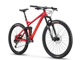 Bicicleta full suspensión