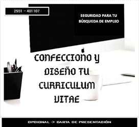 Diseño de Currículums / Trabajos Digitales