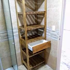 Rack de baño
