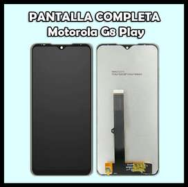 Pantalla Motorola G8 Play
