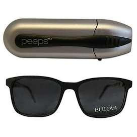Gafas De Sol Bulova Unisex Color Negro 100 Originales