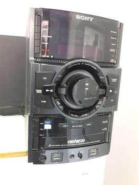 vendo equipo de audio Sony HCD USADO