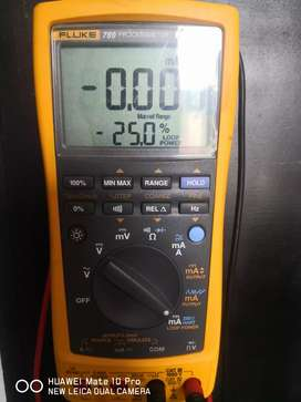 Calibrador de procesos fluke 789