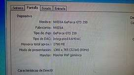 amd phenom 8650 2.30ghz y gts 250