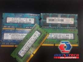 MEMORIA RAM DDR3 2G PORTATIL / TODO EN UNO USADA
