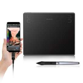 Tableta Gráfica Huion Hs64 En Stock Nuevo, No Wacom Ctl 4100