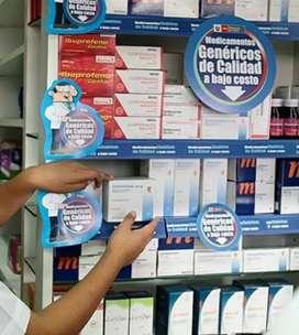 Requiero Quimico Farmeceutico para dirección técnica