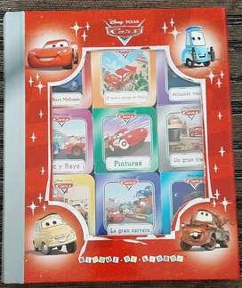 Caja de libros Cars